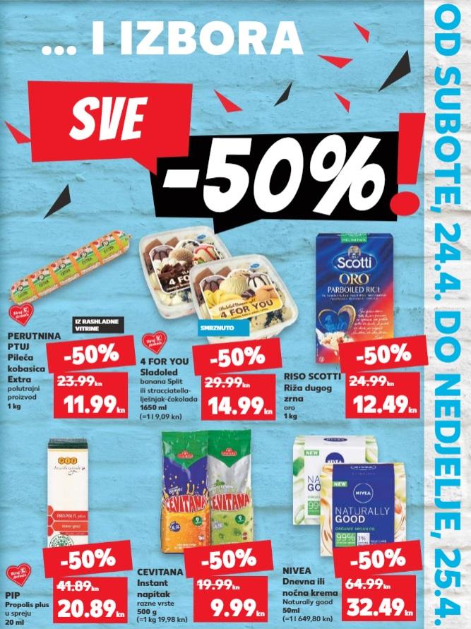 Kaufland vikend akcija pola cijene