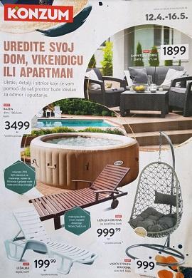 Konzum katalog Uredite svoj dom, vikendicu ili apartman