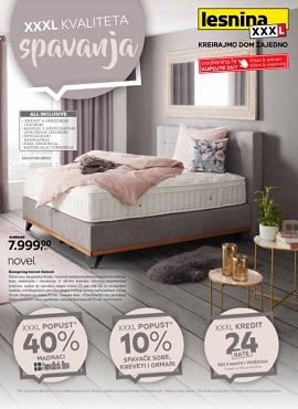 Lesnina katalog Kvaliteta spavanja
