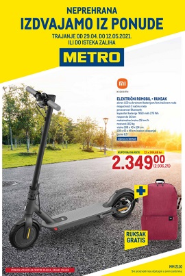 Metro katalog neprehrana Rijeka Zadar Osijek