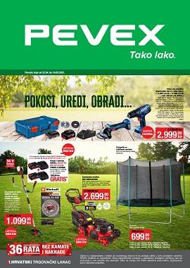 Pevex katalog Pokosi, uredi, obradi