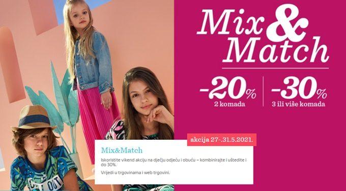 Baby Center webshop akcija Mix & Match