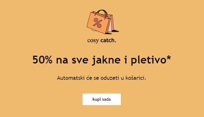 Orsay webshop akcija 50% na sve jakne i pletivo