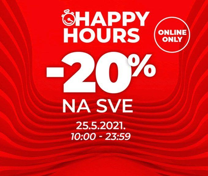 Sport Vision webshop akcija Happy hours 25.05.