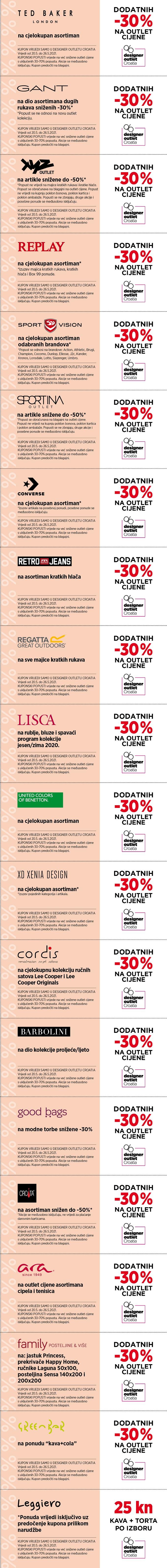Gloria kuponi designer outlet croatia 2