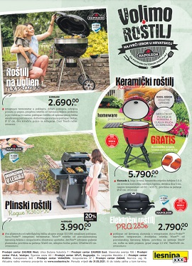 Lesnina katalog Volimo roštilj
