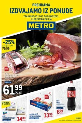 Metro katalog prehrana do 26.5.