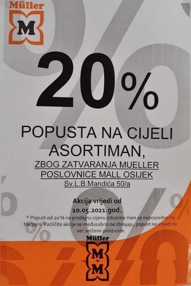 Muller Osijek Mall