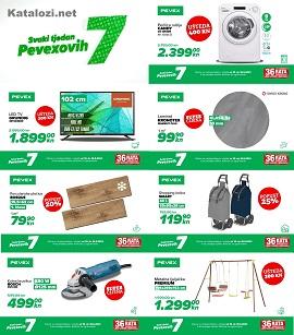 Pevex katalog Pevexovih sedam do 16.5.