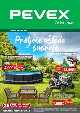 Pevex katalog svibanj