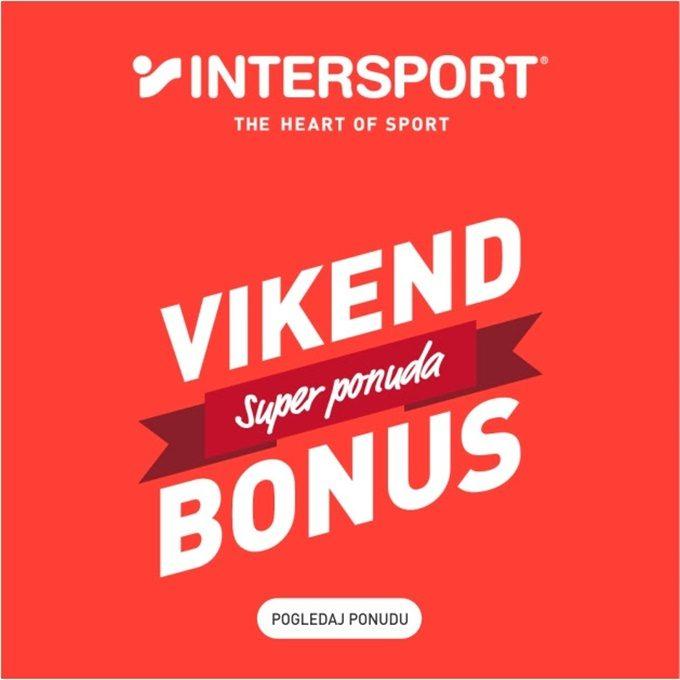 Intersport webshop akcija Vikend bonus do 14.06.