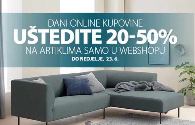 Jysk webshop akcija Dani online kupovine do 23.06.