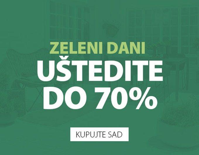 Jysk webshop akcija Zeleni dani do 13.06.