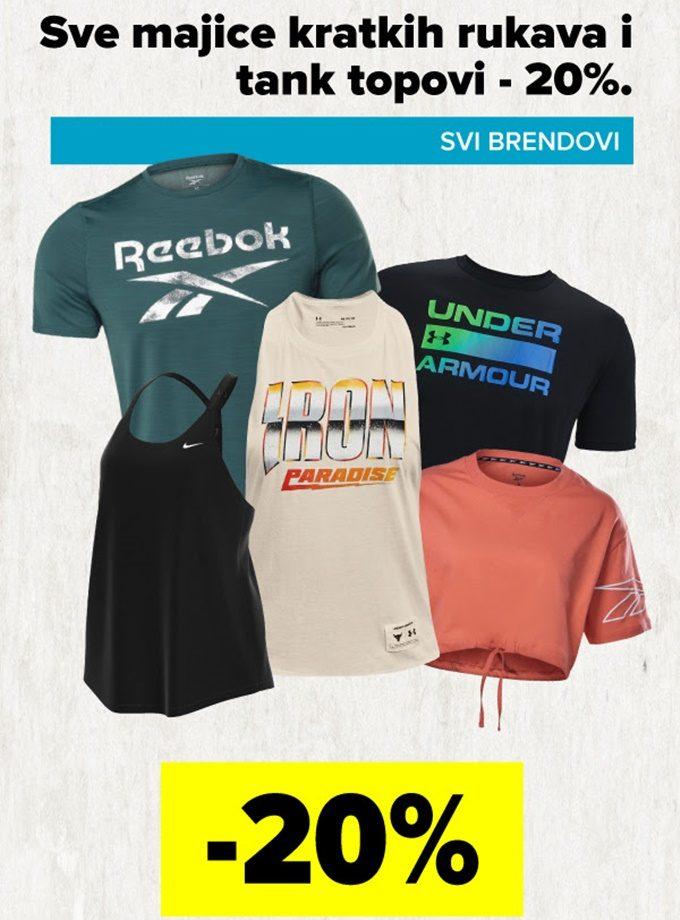 Polleo Sport webshop akcija 20% na majice i topove
