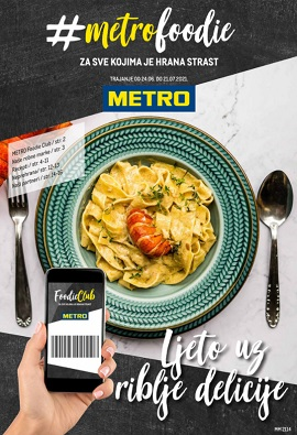 Metro katalog Foodie do 21.7.