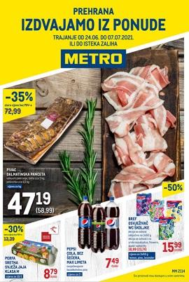 Metro katalog prehrana do 7.7.
