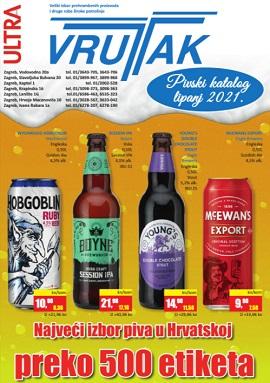 Vrutak katalog pive