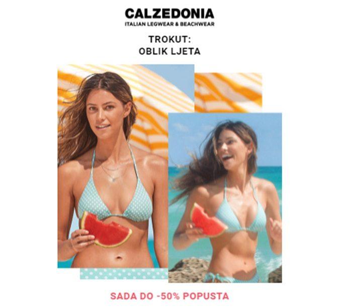 Calzetonia webshop akcija Bikini 50 posto