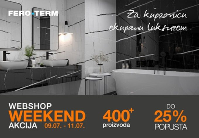 Feroterm webshop akcija za vikend do 11.07.
