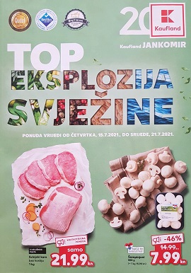 Kaufland katalog Jankomir do 21.7.