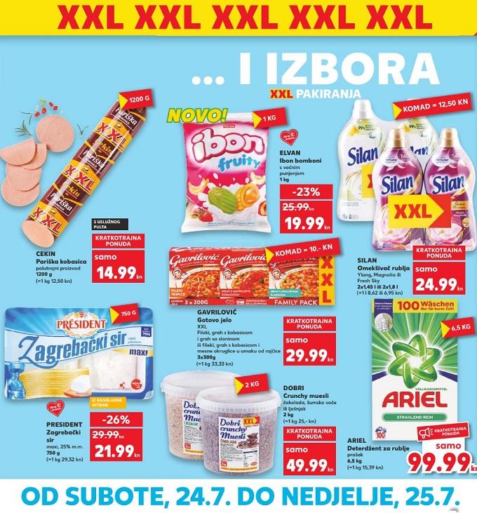 Kaufland vikend xxl akcija