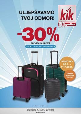 KiK katalog Koferi
