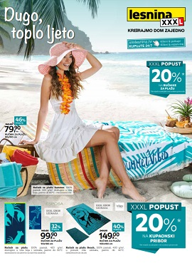 Lesnina katalog Dugo, toplo ljeto