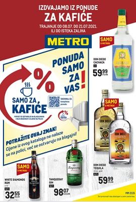 Metro katalog Ponuda za kafiće do 21.7.