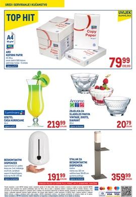 Metro katalog Pula, Poreč, Varaždin, Split, Dubrovnik