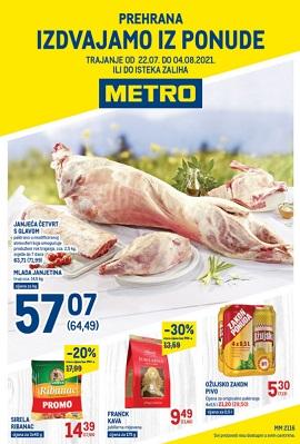 Metro katalog prehrana do 4.8.