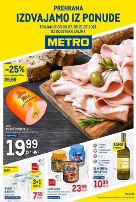 Metro katalog prehrana do 21.7.