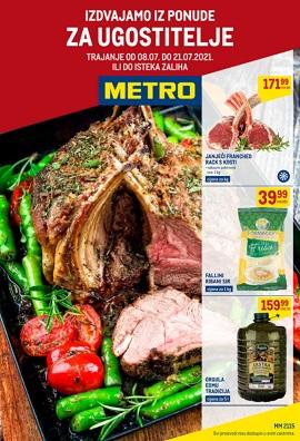 Metro katalog Ugostitelji do 21.7.