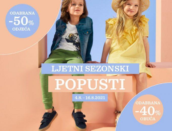 Baby Center webshop akcija Dječja odjeća i obuća do 50 posto