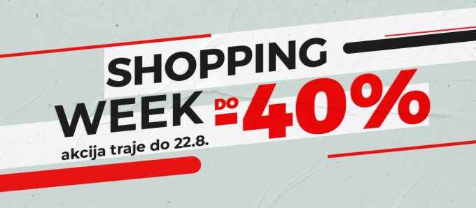 Sport Vision webshop akcija Shopping Wek Do 40 posto