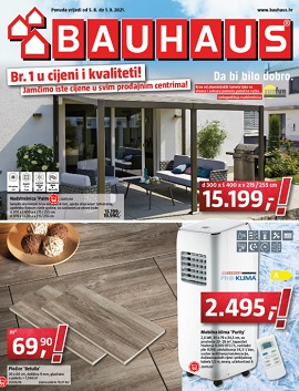 Bauhaus katalog kolovoz
