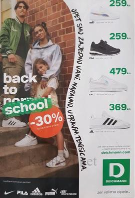 Deichmann katalog Back to school