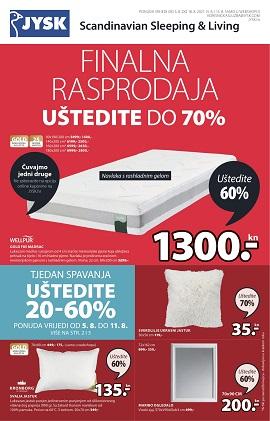 JYSK katalog Finalna rasprodaja