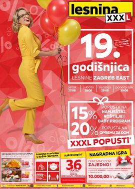 Lesnina katalog godišnjica Zagreb