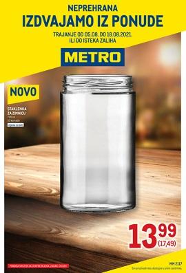 Metro katalog neprehrana Rijeka, Zadar, Osijek