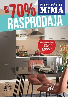 Mima namještaj katalog Rasprodaja