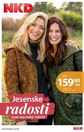 NKD katalog Jesenske radosti