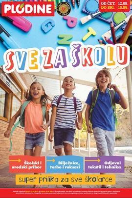 Plodine katalog Sve za školu