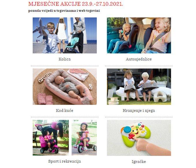 Baby Center webshop akcija mjeseca do 27.10.