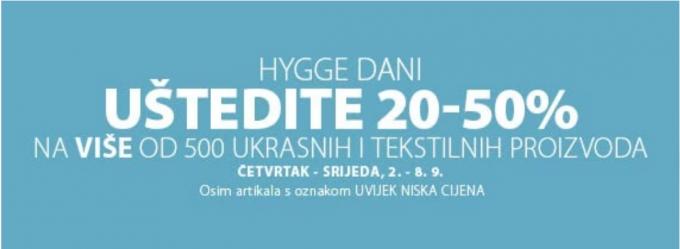 Jysk webshop akcija Ukrasi i tekstil do 50 posto