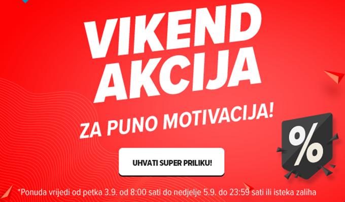 Links webshop akcija za vikend do 05.09.