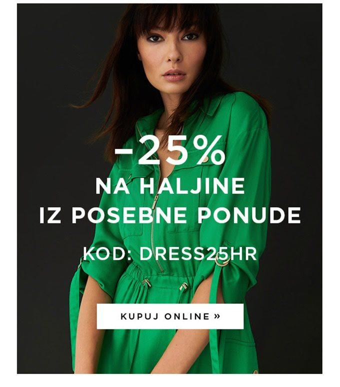 Mohito webshop akcija 25% na haljine
