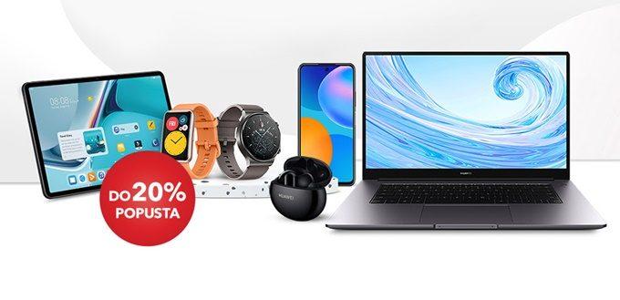 Sancta Domenica webshop akcija 20% na Huawei proizvode