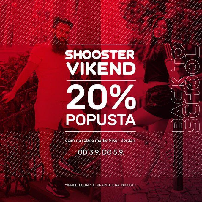 Shooster webshop akcija za vikend do 05.09.
