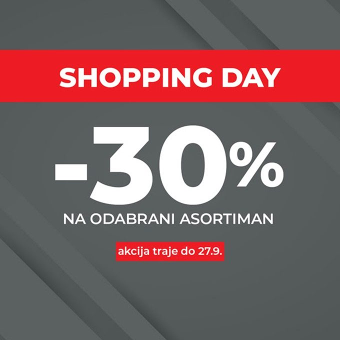 Sport Vision webshop akcija Shopping day 27.09.