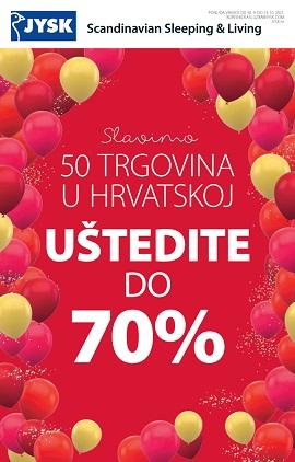 JYSK katalog Uštedite do 70%